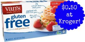 Kroger: Van's Simply Delicious Products Only $0.50!