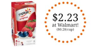 Walmart: Yoplait Yogurt Original 8 pk Only $2.23!