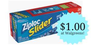 Walgreens: Ziploc Storage Bags Only $1.00!