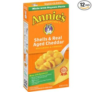 Annie's Shells & Real Aged Cheddar Macaroni & Cheese as low as $7.10 Shipped! ($0.59/box)