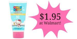 Walmart: Australian Gold Sunscreen Lotion Only $1.95!