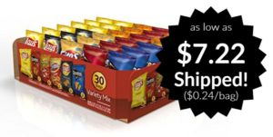 Frito-Lay Variety Pack, Classic Mix, 30 pack as low as $7.22 Shipped!