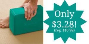 Gaiam Yoga Block Only $3.28!! (reg. $10.98)
