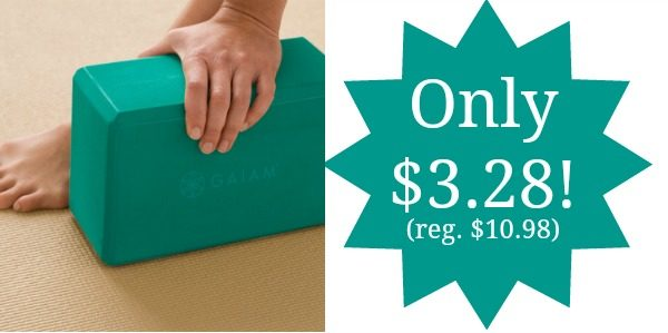 Gaiam Yoga Block Only 3 28 Reg 10 98 Become A
