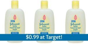 Target: Johnson's Head-To-Toe Bodywash Only $0.99!