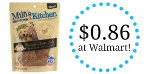 Walmart: Milo's Kitchen Home-Style Dog Treats Only $0.86!
