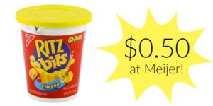 Meijer: Ritz Bits Cheese Go Packs Only $0.50!