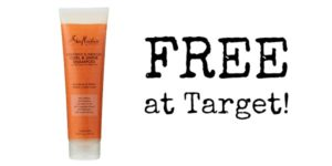 FREE SheaMoisture Shampoo at Target!