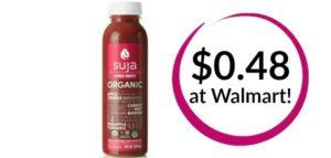 Walmart: Suja Organic Juice Drink Only $0.48!