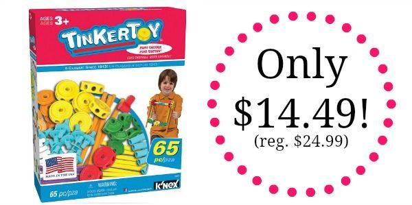 TINKERTOY 65 Piece Essentials Value Set