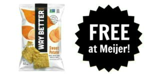 FREE Way Better Chips at Meijer!
