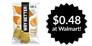 Walmart: Way Better Whole Grain Tortilla Chips Only $0.48!