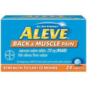 Kroger: Aleve Pain Reliever Only $0.99!