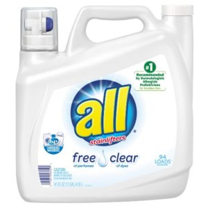Target – All Free Clear Laundry Detergent 94 Loads Only $5.49!