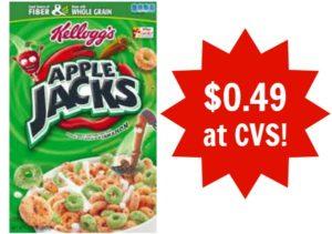 CVS: Apple Jacks Cereal Only $0.49!