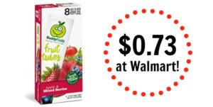 Walmart: Buddy Fruits Fruit Tubes 8ct Only $0.73!