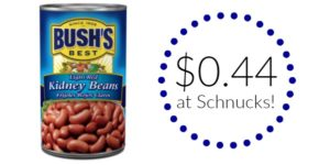Schnucks: Bush's Best Beans Only $0.44!