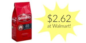 Walmart: Community Coffee Only $2.62!