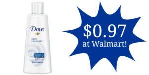 Walmart: Dove Body Wash as low as $0.97!