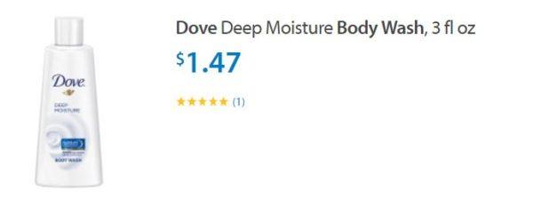 dove deep moisture body wash 3 oz