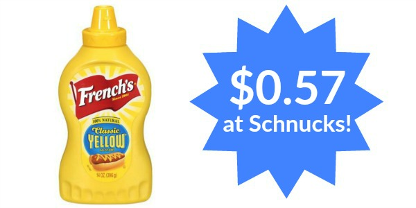 Schnucks: French's Classic Yellow Mustard Only $0.57!