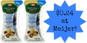 Meijer: Hormel Snack Packs Only $0.24!