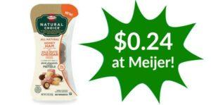 Meijer: Hormel Snack Packs Only $0.24!