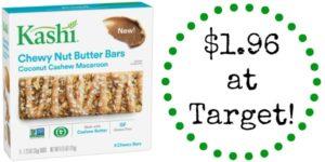 Target: Kashi Nut Butter Bars Only $1.96!