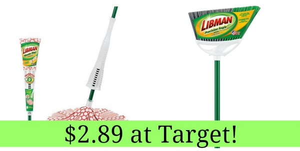 Target Libman Mop And Angle Broom Only 2 89 Each