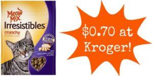 Kroger: Meow Mix Cat Treats Only $0.70!