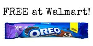 FREE Milka Oreo Bar at Walmart!