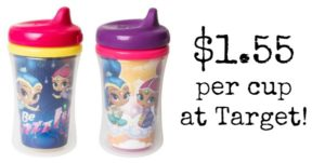 Target: Nuk Sippy Cups Only $1.55 Each!
