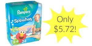 Walmart: Pampers Splashers Only $5.72!