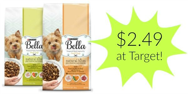purina bella dry dog food