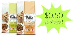 Meijer: Bella Dry Dog Food Only $0.50!