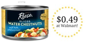 Walmart: Reese Water Chestnuts Only $0.49!