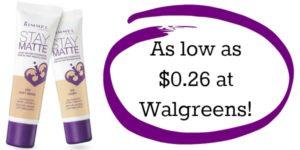 Walgreens: Rimmel London Foundation as low as $0.26!!