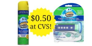 CVS: Scrubbing Bubbles Cleaners Only $0.50!