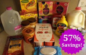 Walmart Shopping Trip – 57% Savings!