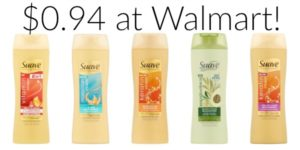 Walmart: Suave Professionals Shampoo or Conditioner Only $0.94!
