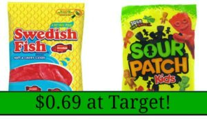 Target: Sour Patch Kids Candy and Swedish Fish Only $0.69!