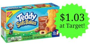 Target: Nabisco Teddy SoftBakes Only $1.03!