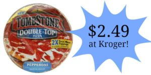 Kroger: Tombstone Pizza Only $2.49!