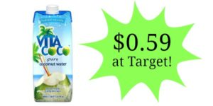 Target: Vita Coco Coconut Water Only $0.59!