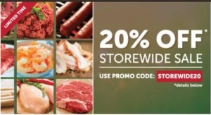 Zaycon Fresh Storewide Sale – 20% OFF Everything!