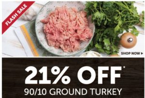 Zaycon Fresh Ground Turkey Only $1.74/lb! TODAY ONLY!
