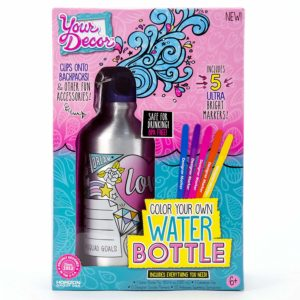Your Décor Color Your Own Water Bottle Kit Only $5.58!