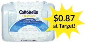 Target: Cottonelle Flushable Wipes Only $0.87!