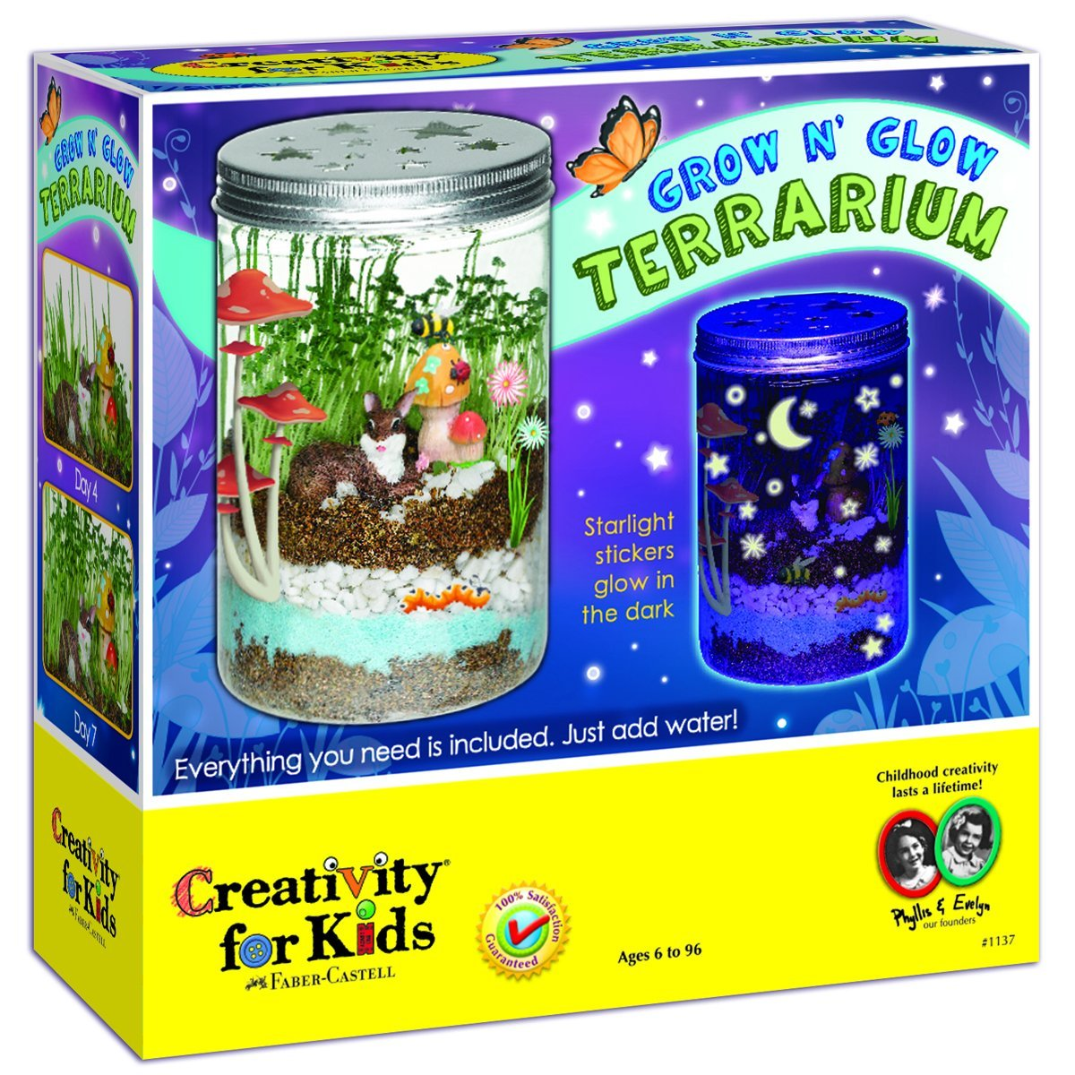 SUPER COOL Creativity for Kids Grow 'n Glow Terrarium Only $12.99!