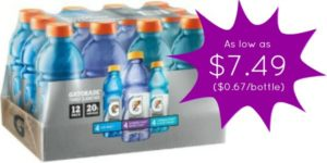 Gatorade Frost 12-Pack as low as $7.49!